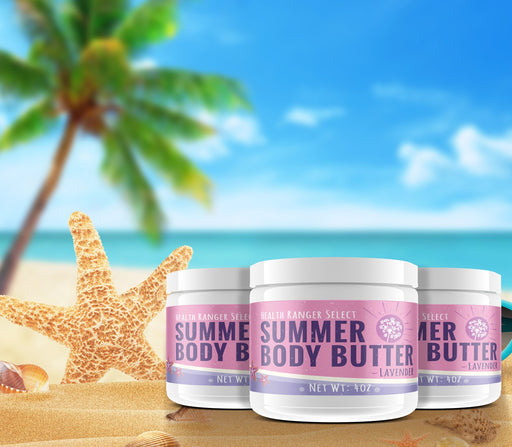 Summer Body Butter Lavender 4oz (3-Pack)