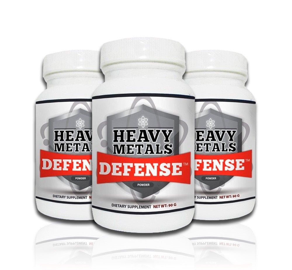 Heavy Metals Defense Powder 90g  (3-Pack)