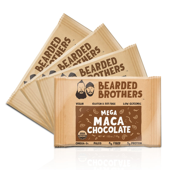 Mega Maca Chocolate Energy Bars (4 Pack)