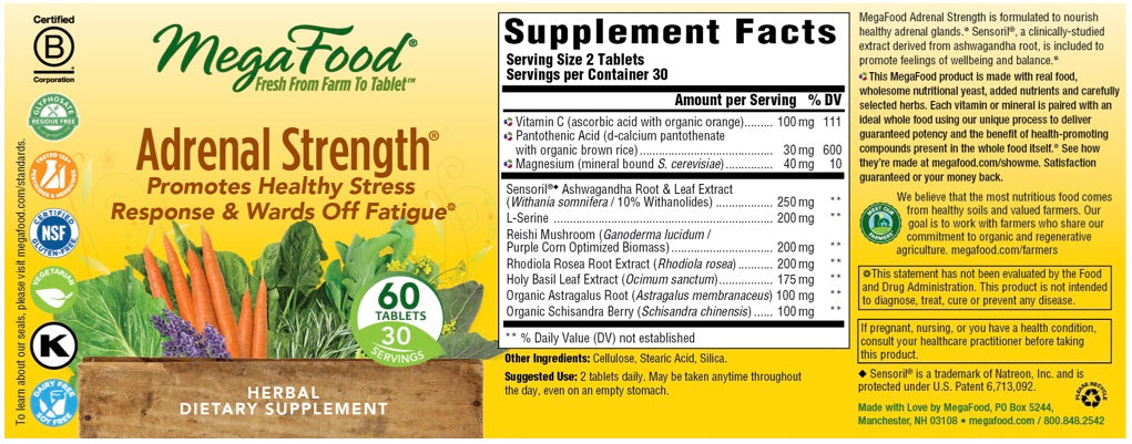 Adrenal Strength® 60 Counts
