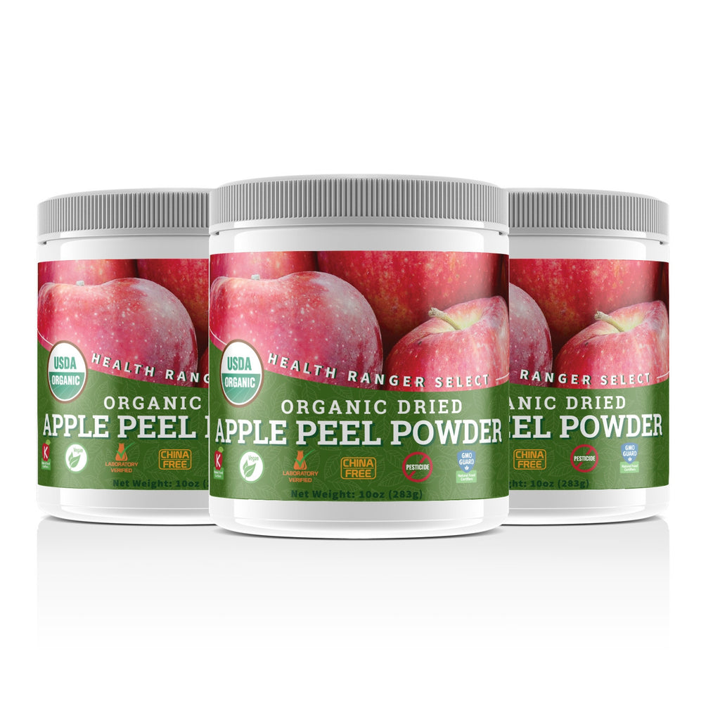 Organic Apple Peel Powder 10oz (283g) (3-Pack)