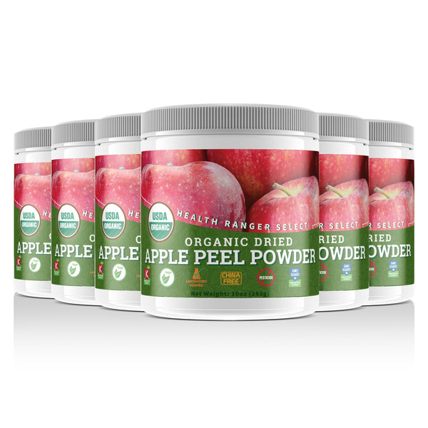 Organic Apple Peel Powder 10oz (283g) (6-Pack)