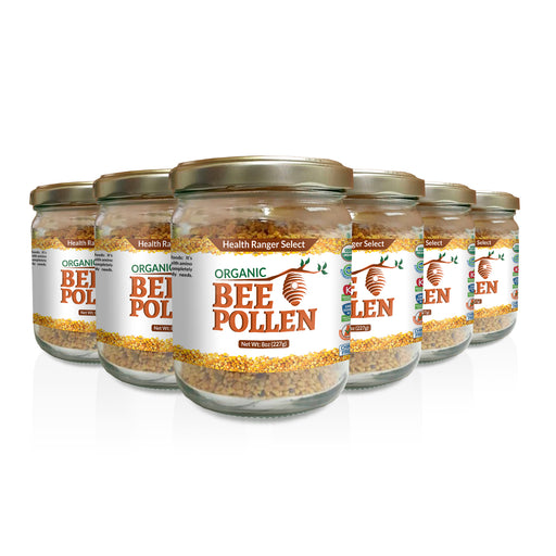 Organic Bee Pollen 8oz (227g) (6-Pack)