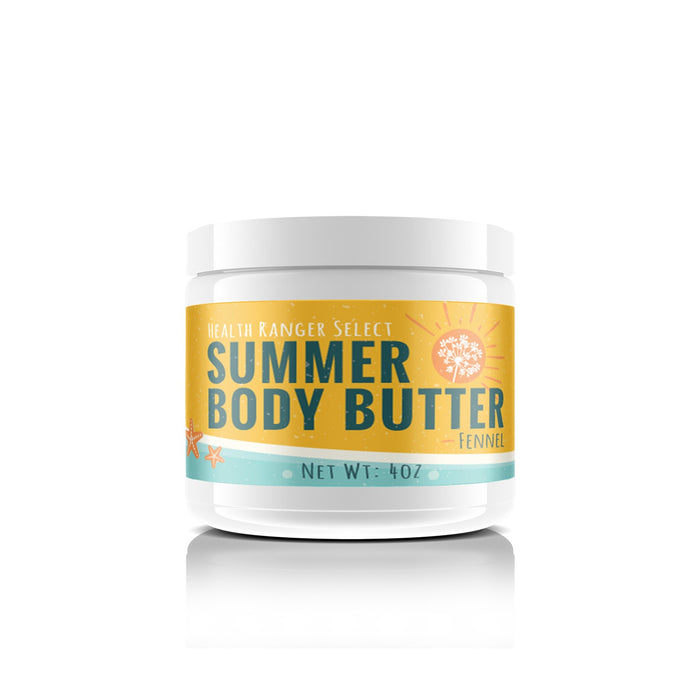 Summer Body Butter Fennel 4oz