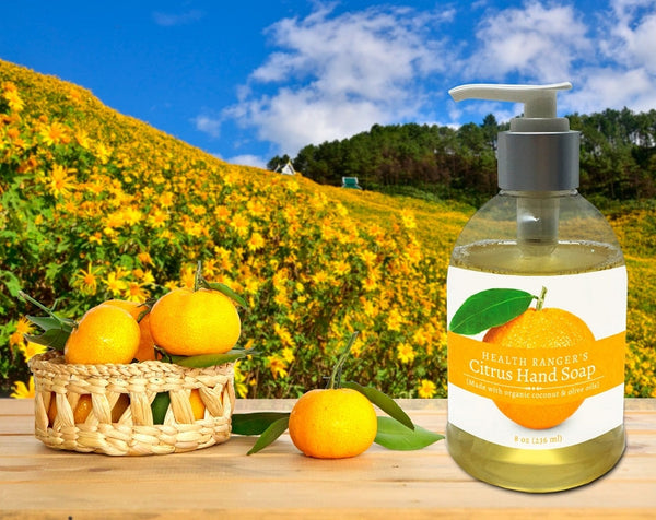 Health Ranger's Citrus Hand Soap 8oz