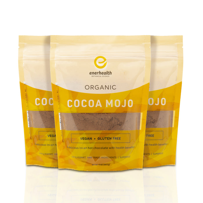 Cocoa Mojo - Organic Cocoa Powder Blend (3-Pack)