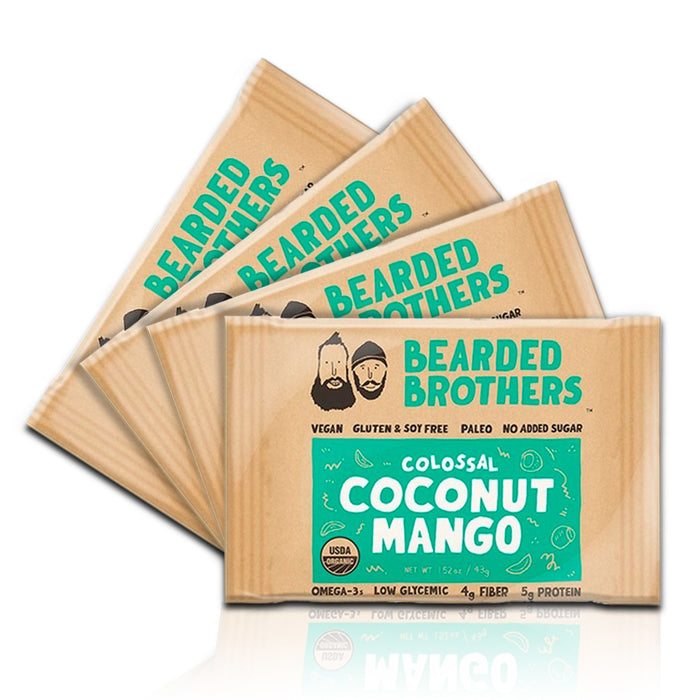 Colossal Coconut Mango Energy Bars (4 Pack)