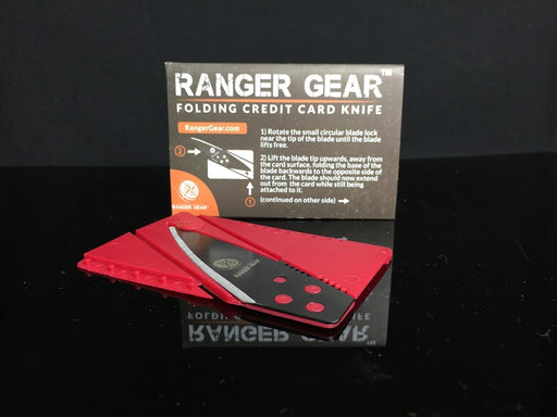 Ranger Gear Folding Credit Card Knife (Economy edition)
