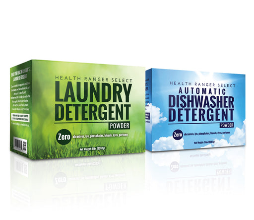 Chemical-free Dish + Laundry Detergent Combo