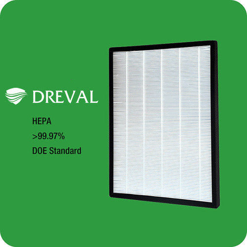 Dreval HEPA 6 Stage Air Purifier D-903 Replacement Filters