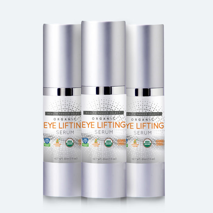 Organic Eye Lifting Serum 1 fl oz (30ml) (3-Pack)