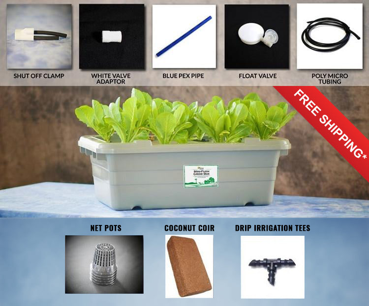 Food Rising Mini-Farm Grow Box 2.0 (Expansion Kit) (Ship within 2-6 business days)