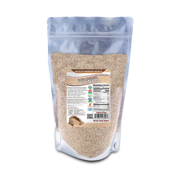 Health Ranger Select Organic Quinoa 16oz (454g)