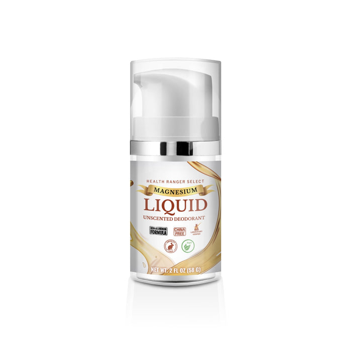 Magnesium Liquid Deodorant Duo (Scented and Unscented) (Over 3 Month Supply)*