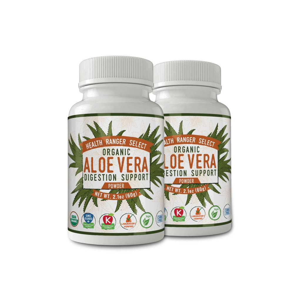 Aloe Vera Digestion Support Powder 2.1oz (60g) (2-Pack)