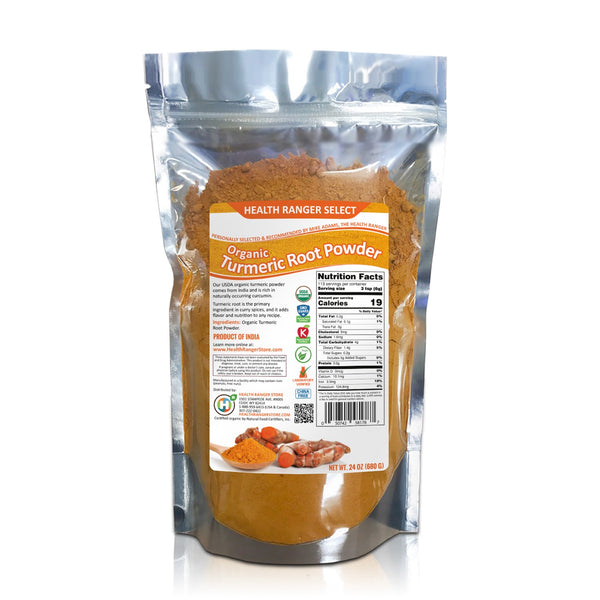 Organic Turmeric Root Powder (24oz)