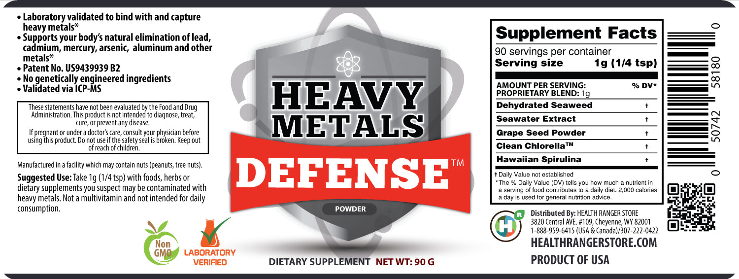 Heavy Metals Defense Powder 90g