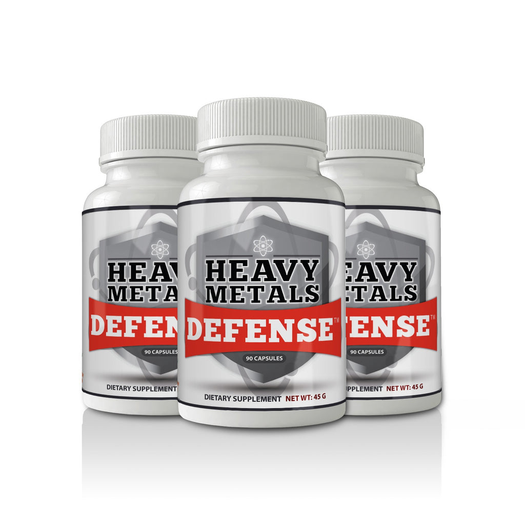 Heavy Metals Defense 90 Caps (3-Pack)