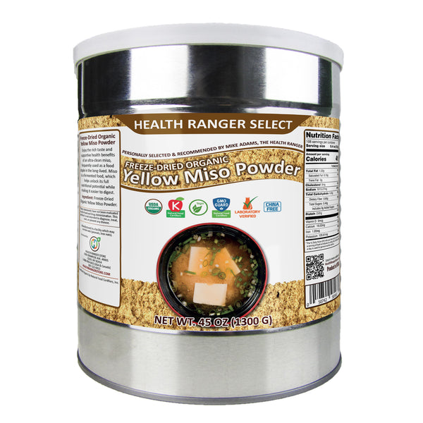 Freeze Dried Organic Yellow Miso Powder 1300g
