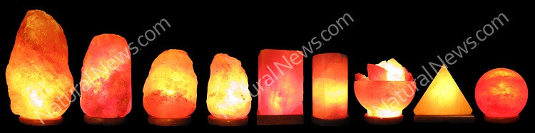 Himalayan Crystal Salt Lamp 2-3kg with FREE dimmer switch