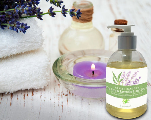 Health Ranger's Tea Tree and Lavender Hand Soap 8oz