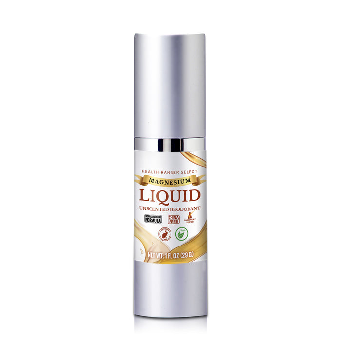 Magnesium Liquid Deodorant Duo (Scented and Unscented)