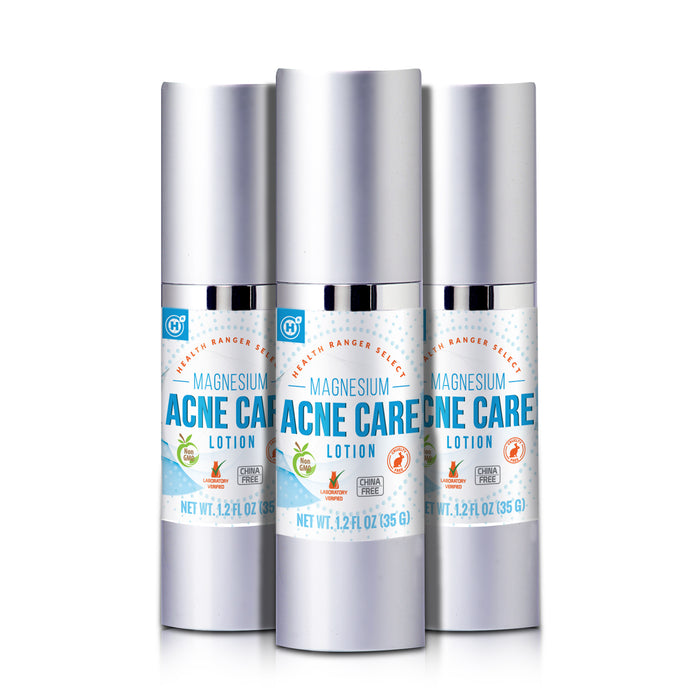 Magnesium Acne Care Lotion 1.2 fl oz (35g) (3-Pack)