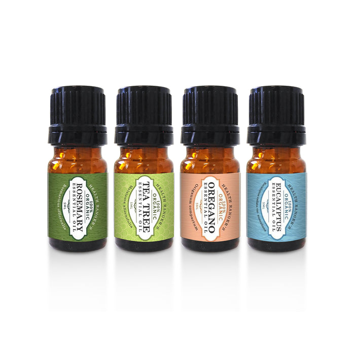 First Aid Essential Oils Kit (5ML Variety)