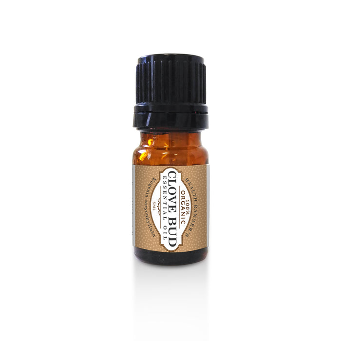 Organic Essential Oil Gift Set - Tea Tree (5ML) and Clove Bud (5ML)