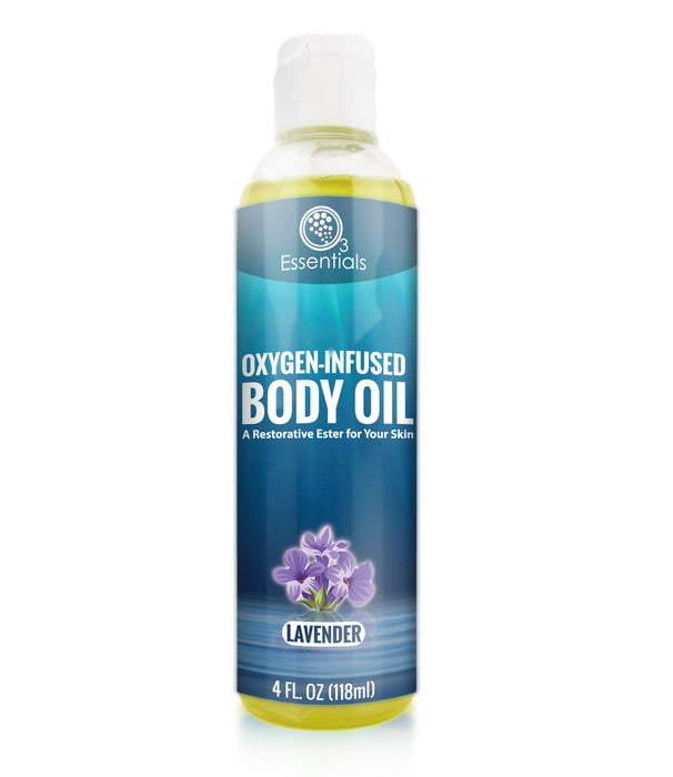 Oxygen-Infused Body Oil Variety 3-Pack