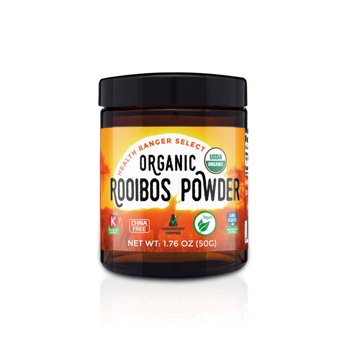 Organic Rooibos Powder 1.76oz (50g) (6-Pack)