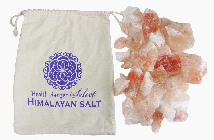Pink Himalayan Bath Salts with Cloth Bag (2.0-2.5 lb)