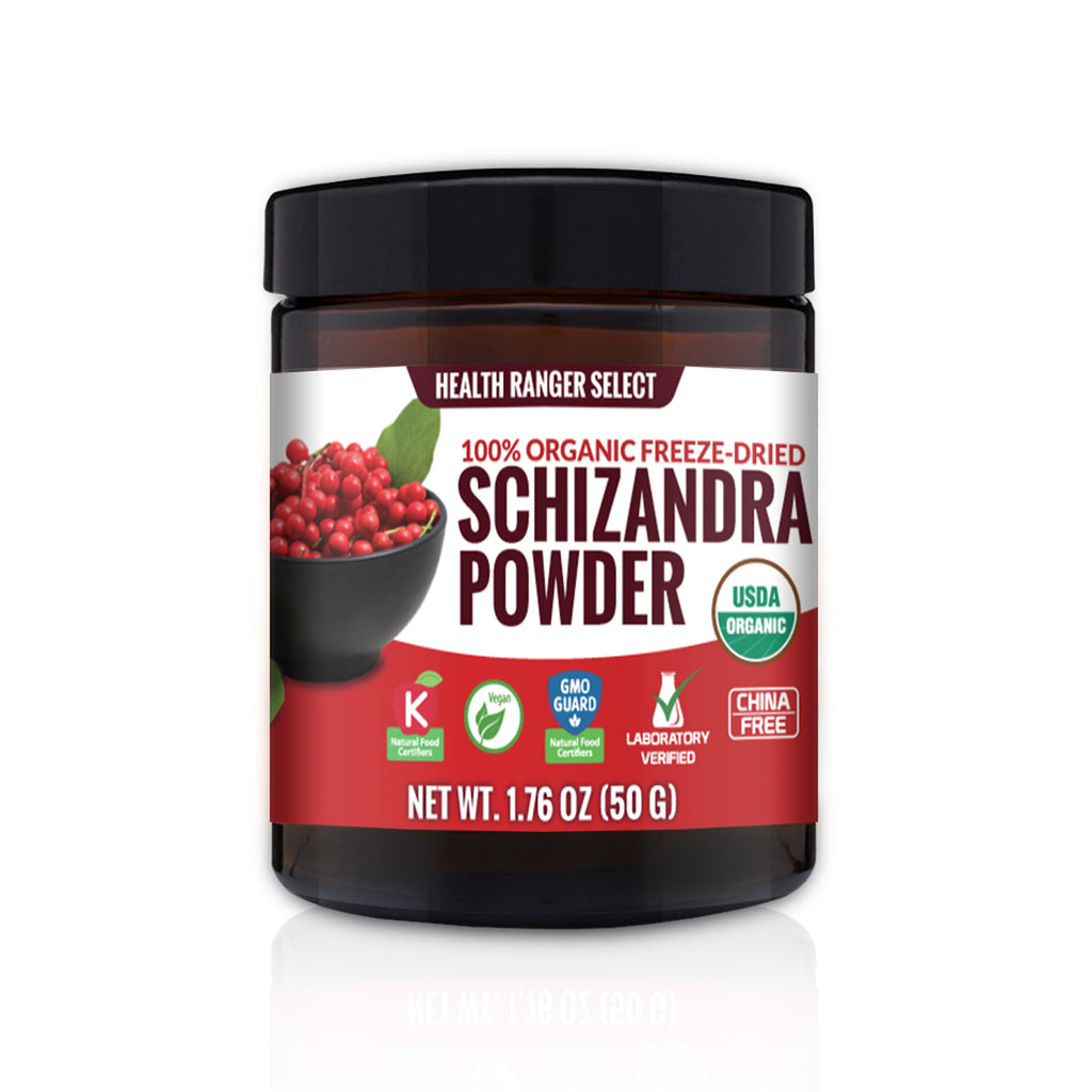100% Organic Freeze Dried Schizandra Powder 1.76oz (50g)