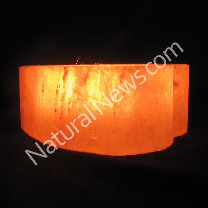 Himalayan Crystal Salt Tea Light HEART shape