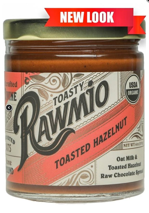 Rawmio Toasted Hazelnut 6 oz