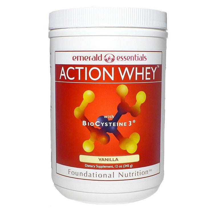Action Whey™ with BioCysteine3® (Vanilla) 12oz (345g)