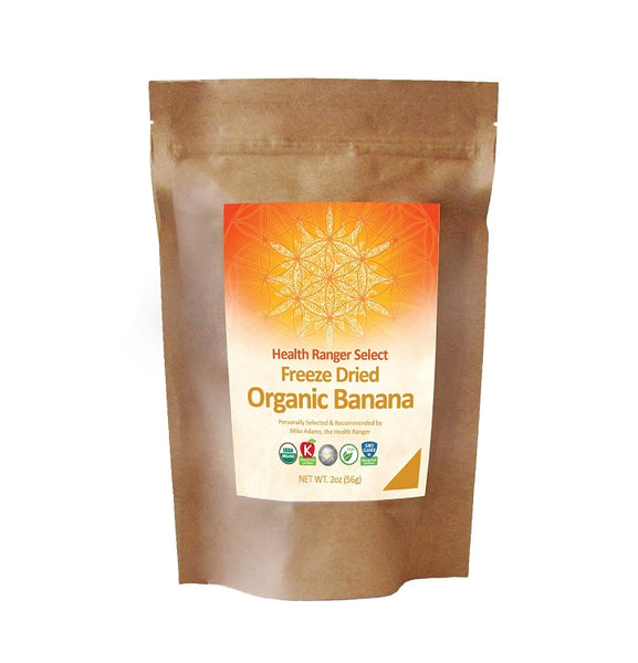 Freeze Dried Organic Banana (2oz)
