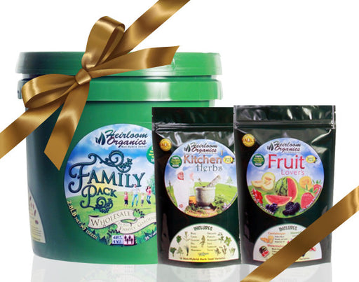 Gift Pack I - Purchase a Family Pack, Fruit Lovers and Family Kitchen Herb for $199
