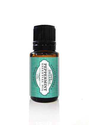 100% Organic Peppermint Essential Oil 0.5oz (15ml)