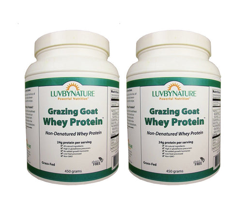 Grazing Goat Whey Protein 450g  (2-Pack)
