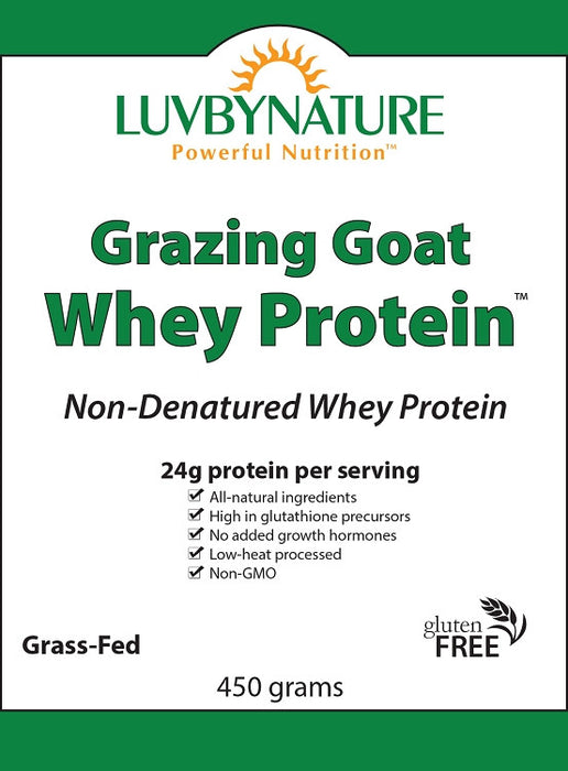Grazing Goat Whey Protein 450g