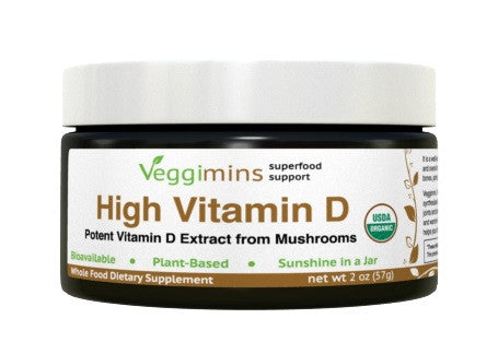 Veggimins High Vitamin D Powder 2oz
