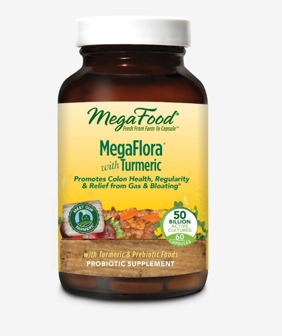 MegaFlora® with Turmeric (60 count)