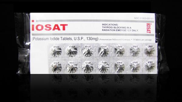 iOSAT Potassium Iodide Tablets 130 mg (FDA approved) (6-Pack)