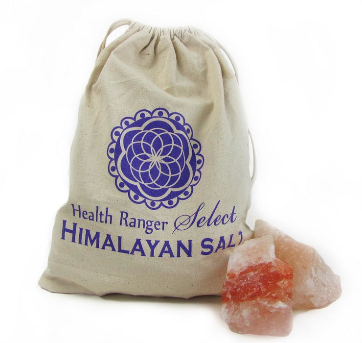 Pink Himalayan Crystal Salt Chunk SIX lbs or more, NATURAL shape