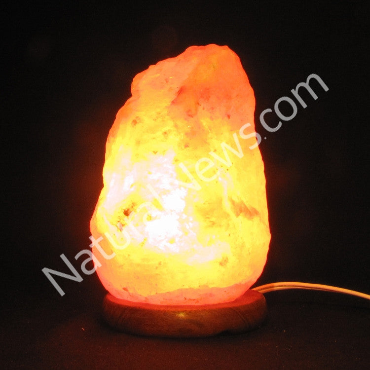 Himalayan Crystal Salt Lamp 1-2kg with FREE dimmer switch