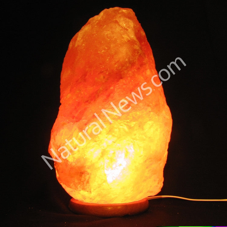 Himalayan Crystal Salt Lamp 9-12kg with FREE dimmer switch Health Ranger Store
