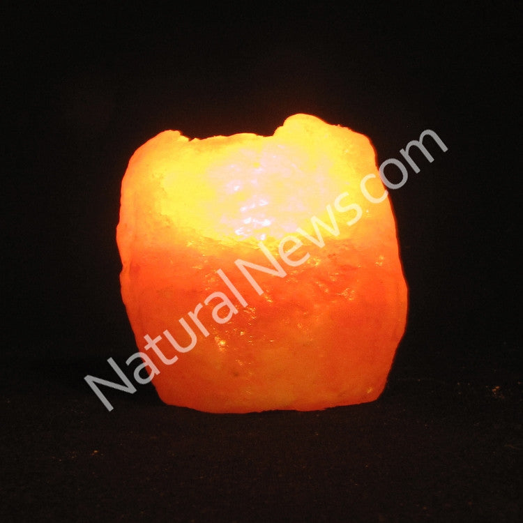 Himalayan Crystal Salt Tea Light NATURAL shape 0.4-0.7kg