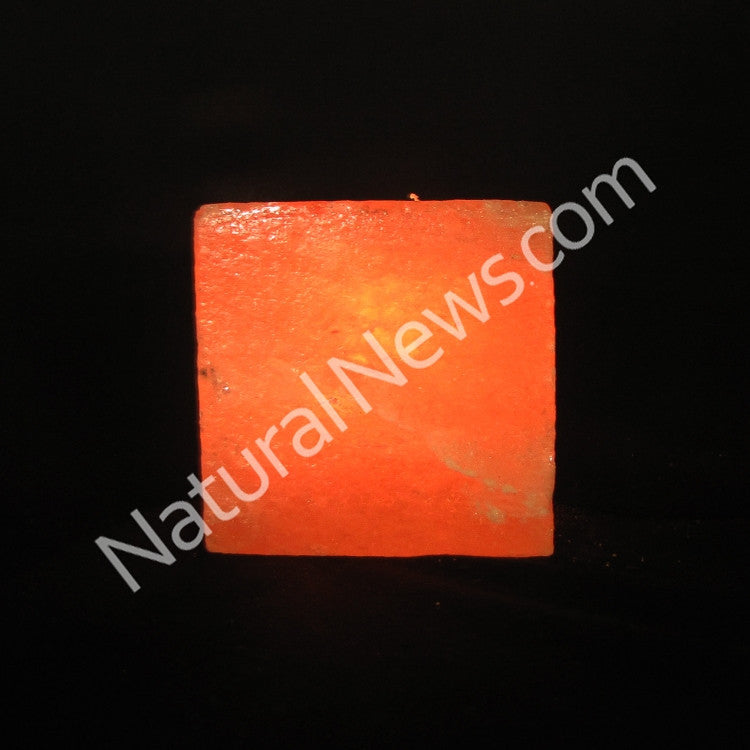 Himalayan Crystal Salt Tea Light CUBE shape