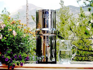 Royal Berkey Water Filtration System with 2 Black Berkey Filters (Great For 2-6 People: 3.25 Gallons capacity)